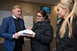 650 borgere i protest mod vejkryds i Løgstør: Hva' så Per Bach Laursen?