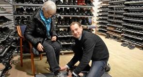 Book en tid til dit næste skokøb i Hadsund
