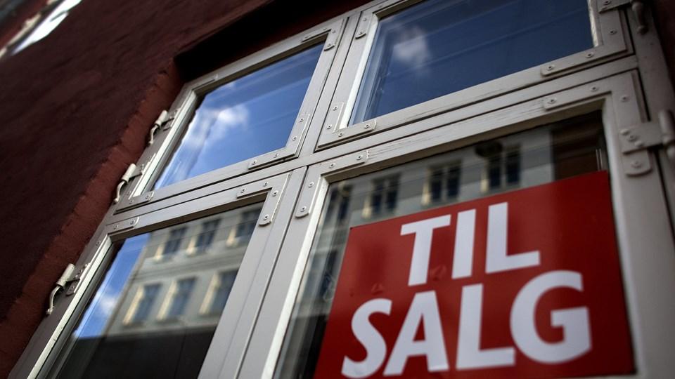 Priserne på lejligheder fortsatte op i februar. Foto: Scanpix/Jeppe Michael Jensen
