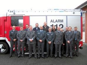 Brandmænd samlet til nytårsparole