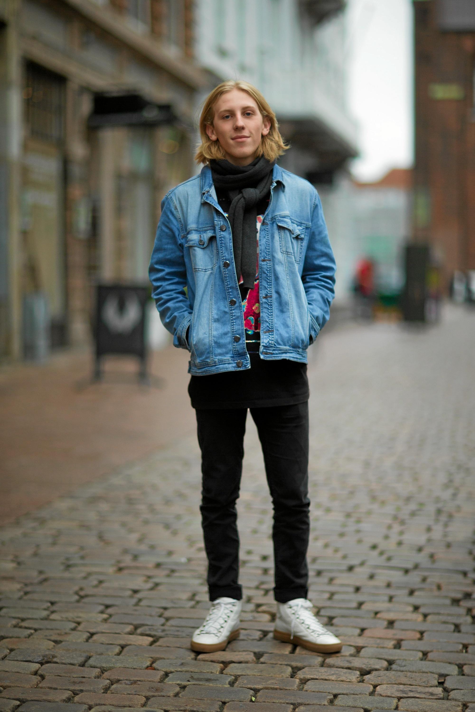 Det handler ikke altid om tøjet, men også, hvordan man bærer det. Foto: Victor Jones