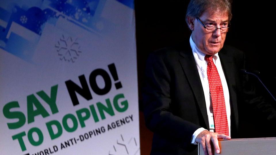 """Det Internationale Antidopingagentur arbejder under mottoet """"sig nej til doping""""."""