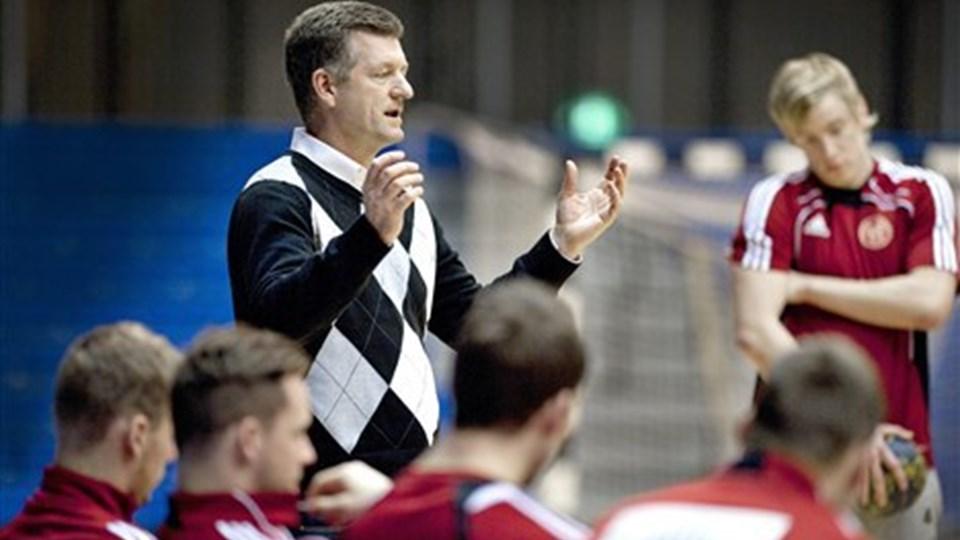 Aalborg Håndbolds direktør Jan Larsen glæder sig over den fine indsats i pokalturneringen. Foto: Torben Hansen