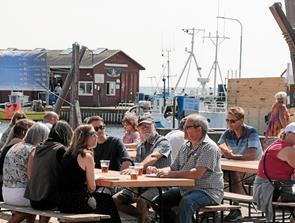 Så er havnefesten i Ålbæk skudt i gang