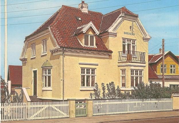 """Præsteboligen """"Bohuslän"""" har siden 1949 været knyttet til Den Svenske Sømandskirke. LOKALHISTORISK ARKIV SKAGEN"""