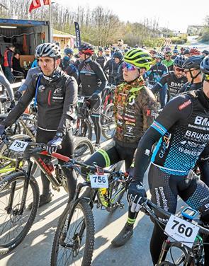 Udsolgt MTB-løb med 500 deltagere