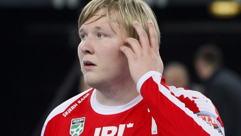 Emil Nielsen fra Skjern skal fra næste sæson spille for Nantes. Men inden da skal målmanden selv møde franskmændene i Champions League-gruppespillet.