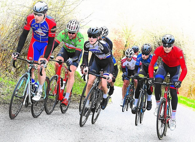 Tirsdag aften 7. august køres for første gang Lønnerup Grand Prix for motionister og andre cykelryttere. Den lede bakke på Lønnerupvej skal bestiges 10 gange. Arkivfoto