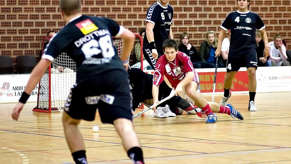 Den nye fusionsklub i Frederikshavn kommer til at hedde Frederikshavn Black Hawks. Arkivfoto