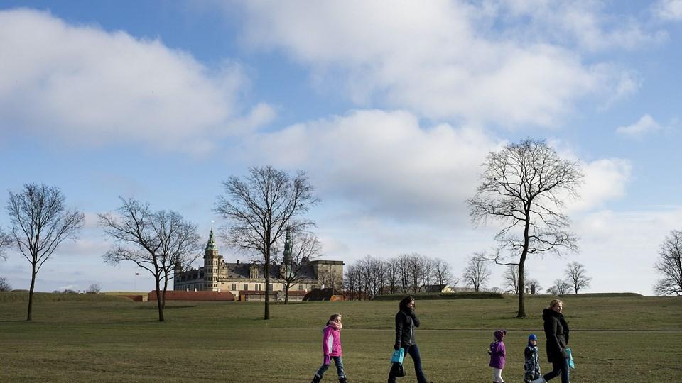 Dem, der holder vinterferie i Danmark denne uge, kan forvente behagelige temperaturer og gode muligheder for solskin.