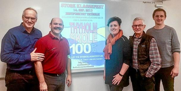 Thyholm Skole fejrer 100 år