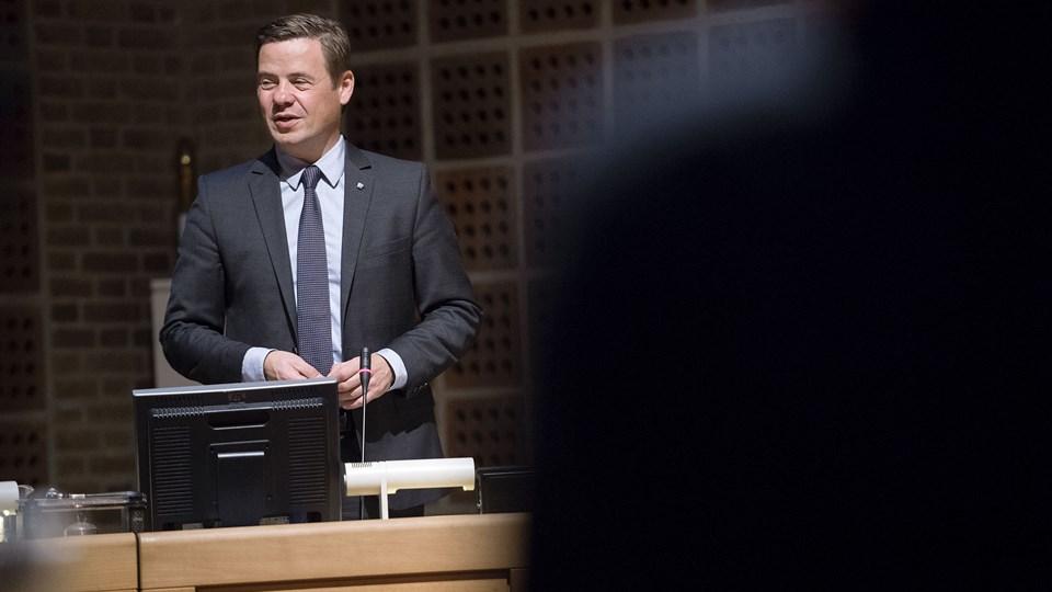Loven forhindrer, at borgmester Thomas Kastrup-Larsens (S) løn for at være formand i Novi, havnen og NT kan modregnes i borgmestervederlaget, derfor må der nu findes andre løsninger. Arkivfoto