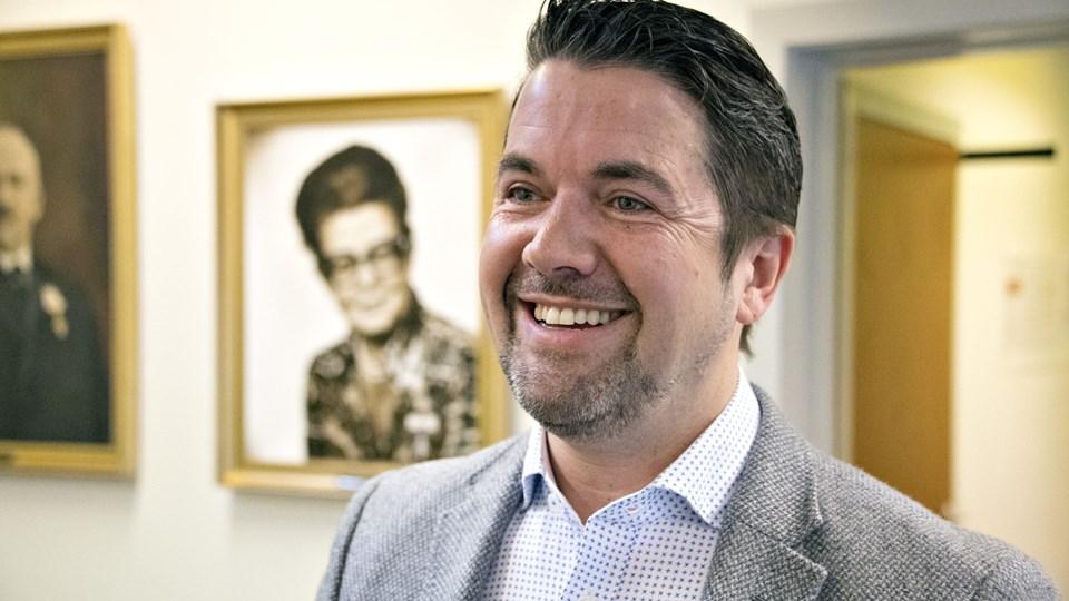 Jesper Bangsborg: - Det kolde forår ramte salget. Foto: Kurt Bering