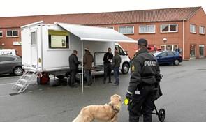 Rullende politistation gæster Nykøbing