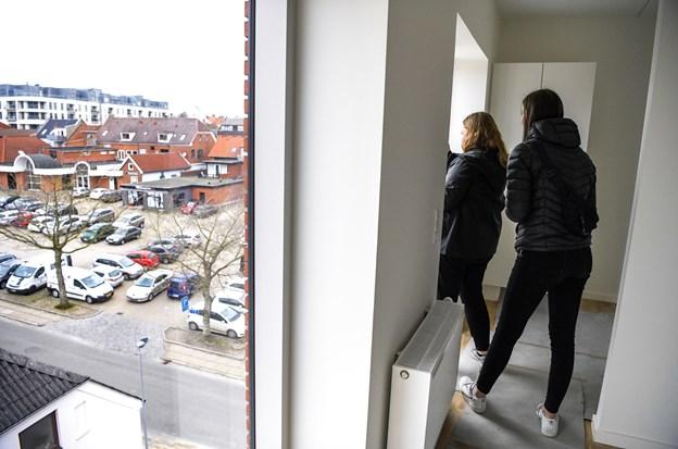 Udsigt til unge boliger i Aars: Mange kvadratmeter til lav pris