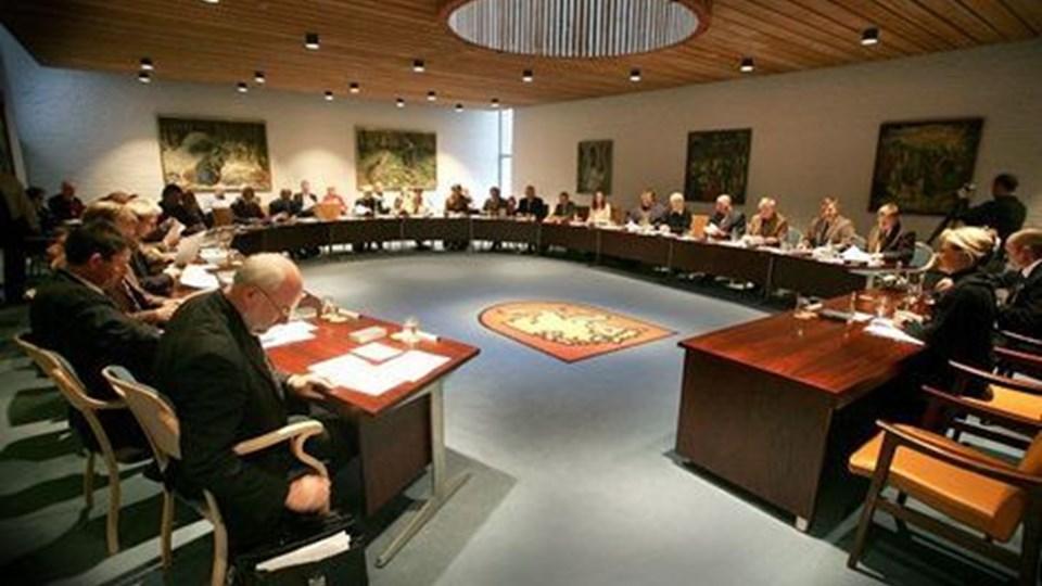 Sammenlægningsudvalget var delt i afgørelsen omkring samarbejdet med Aalborg. arkivfoto