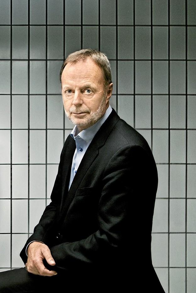 Efterforskningschef Bent Isager-Nielsen er i Skagen 29.oktober.  Privatfoto