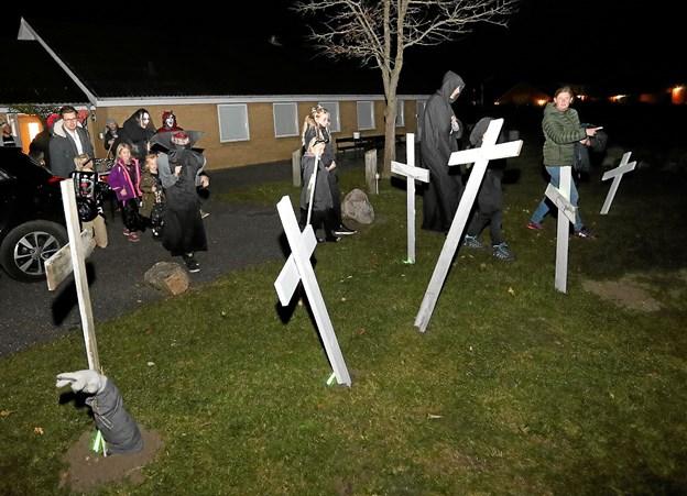 Der er lagt til en vis uhygge den 3. november i Stae Borgerhus. Foto: Allan Mortensen