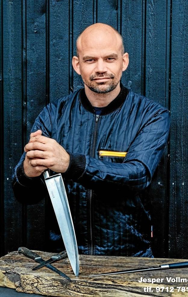 Tidligere kongelig kok Jesper Vollmer beroliger med, hvordan du kan tilberede god julemand uden at ty til overflod. Privatfoto