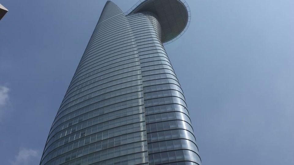 Her en skyskraber i Ho Chi Minh City