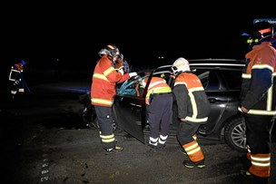 To kørt på skadestuen efter trafikuheld