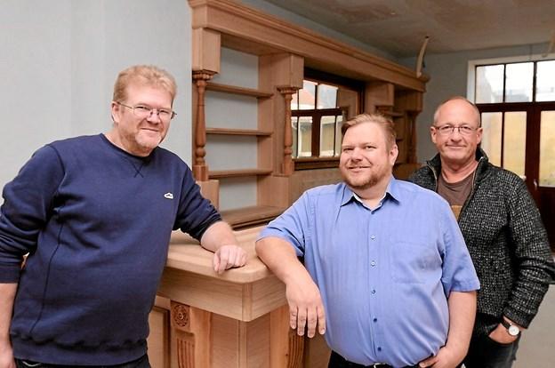 Gert Jensen og Wenbo A/S står bag Peter Mortensen og Jesper Hjortdal, som starter smørrebrødsrestaurant, vinstue og brænderi op i Hjørring. Foto: Privatfoto