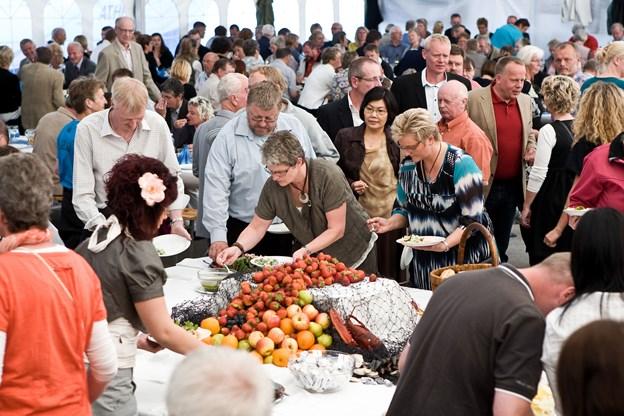 Der har i årevis væretholdt skaldyrsfestival på Mors. På lørdag er der DM i østers gastronomi, hvor en kok med rødder i Hirtshals deltager. Arkivfoto: Bo Lehm