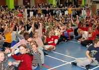 Danmarks første skolemesterskab i badminton