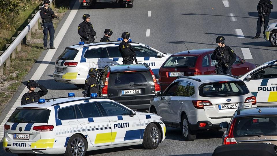 Sjælland blev lukket ned i flere timer 28. september, da politiet reagerede på, at medlemmer af en oprørsbevægelse tilsyneladende var truet af en iransk efterretningstjeneste. For tiden sidder en norsk statsborger med iransk baggrund i fængsel for at deltaget i planlægning af et drab i Ringsted. (arkivfoto)