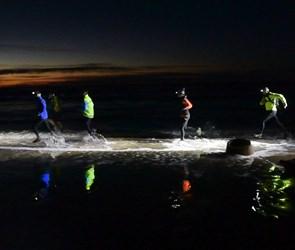 Nyt løb under opsejling: 14 km langs kysten