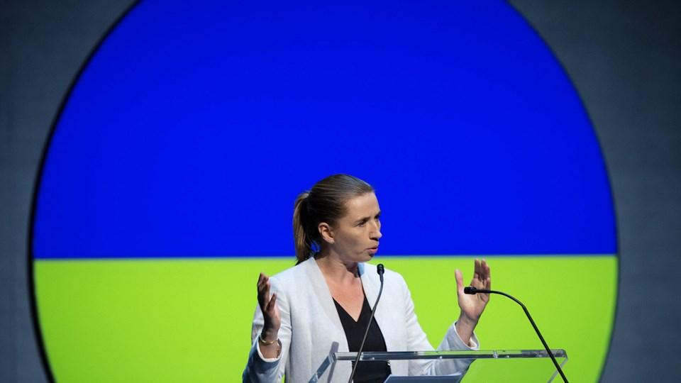 Konference Transforming Denmark Foto: Scanpix/Jens Astrup