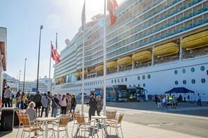 Krydstogtgæster og besætninger brugte 35 mio. kroner