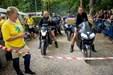Motorcykler til parade i Thy