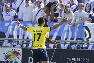 Babayan efter fan-krig: Jeg vidste, jeg ville score, da de begyndte på det der