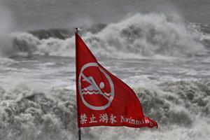 Taiwan lukker skoler forud for voldsom tyfons ankomst