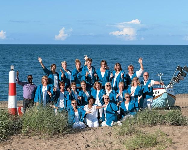 Mandag 26. november er der atter adventskoncert i Ræhr kirke med gospelkorene fra Klitmøller og Lemvig. Privatfoto