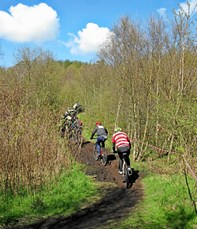 Stort cykelløb ved Gistrup