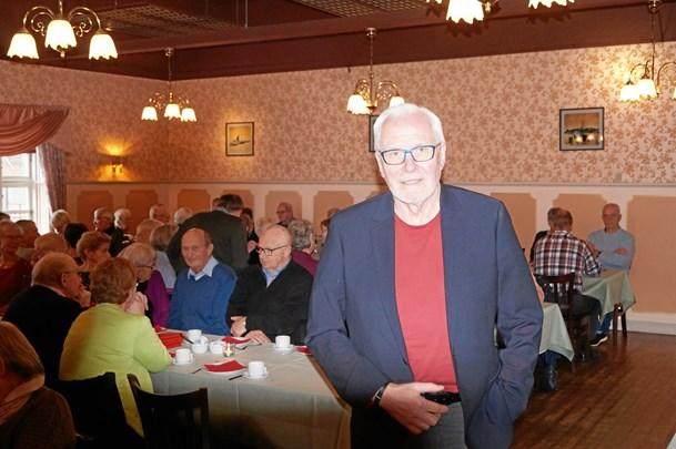 Jørgen Pyndt besøgte seniorklubben