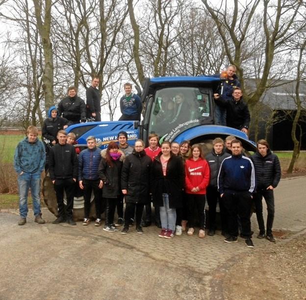 Flere unge vil være landmænd: Landbrugsskole har det største hold elever i 14 år