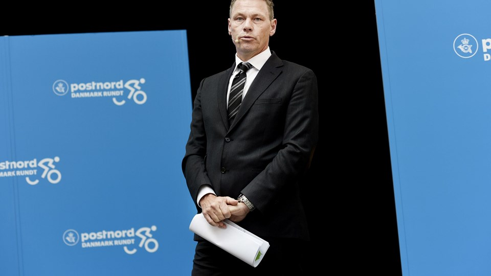 Postnord Danmark Rundt pressemøde. Foto: Scanpix/Liselotte Sabroe
