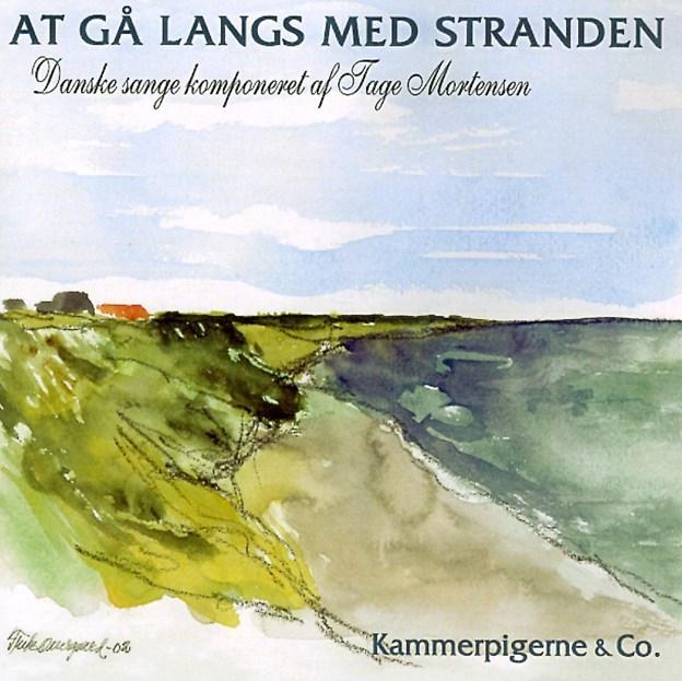 Tage Mortensen efterlod sig mange smukke sange, som aldrig var blevet udgivet,. De sange stod Birgit Munch og Kammerpigerne for at indspille, så de er sikret en plads i den digitale verden også og kan høres blandt andet på Spotipy. Skriv Tage Mortensen og find albummet 'At gå langs med stranden'. Motivet til cd'en skabte Frits Overgaard inspireret af Bratten Strand, hvor Tage havde sit elskede sommerhus.