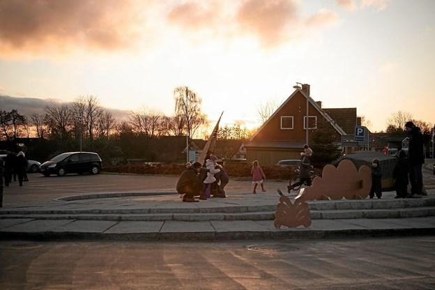 Soltorvet i Lendum. Foto: Peter Jørgensen Peter Jørgensen