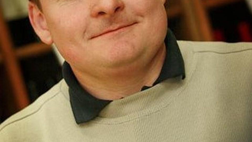 René Jensen: - Salget af økologiske varer og vin og spiritus vokser.   foto: martin damgård