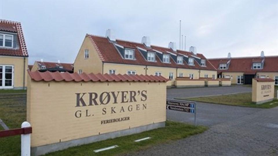 Hotellejlighederne har adresse på Højensvej og fordeler sig bag de forreste. Foto: Carl Th. Poulsen