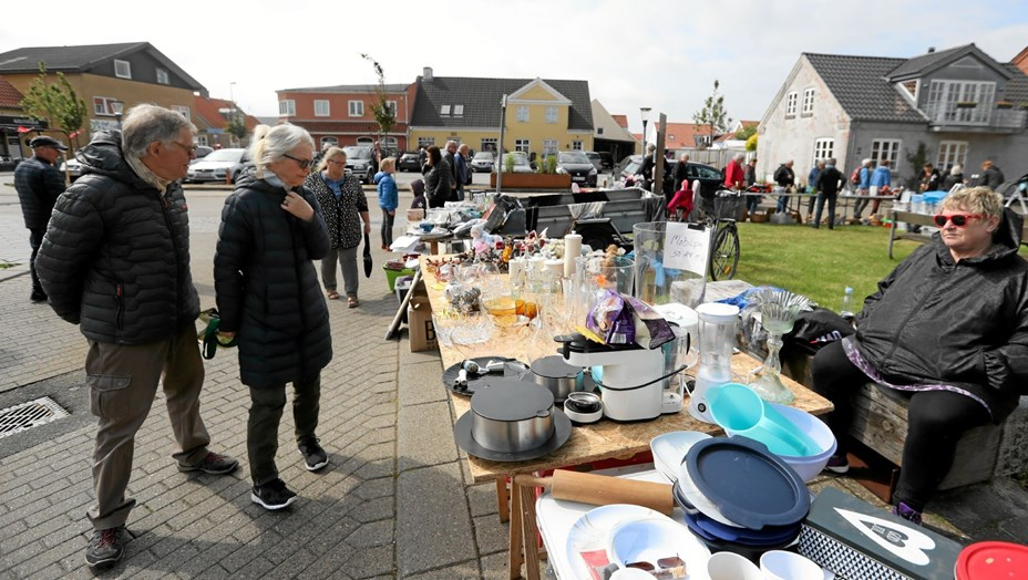 Populært bagagerumsmarked