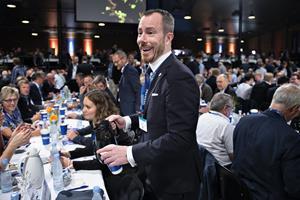 Jakob Ellemann-Jensen er valgt som Venstres nye formand