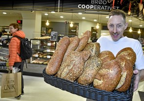 Nye brøddufte i nye omgivelser