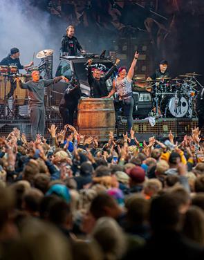Tak for i år: Nibe Festival var vært for fire fede dage i Skalskoven
