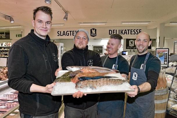Nu frisk morgenfisk i SPAR på Fårtoftvej