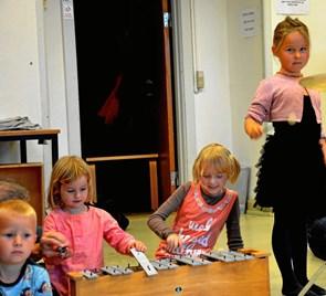 Skole frister med kreative aktiviteter